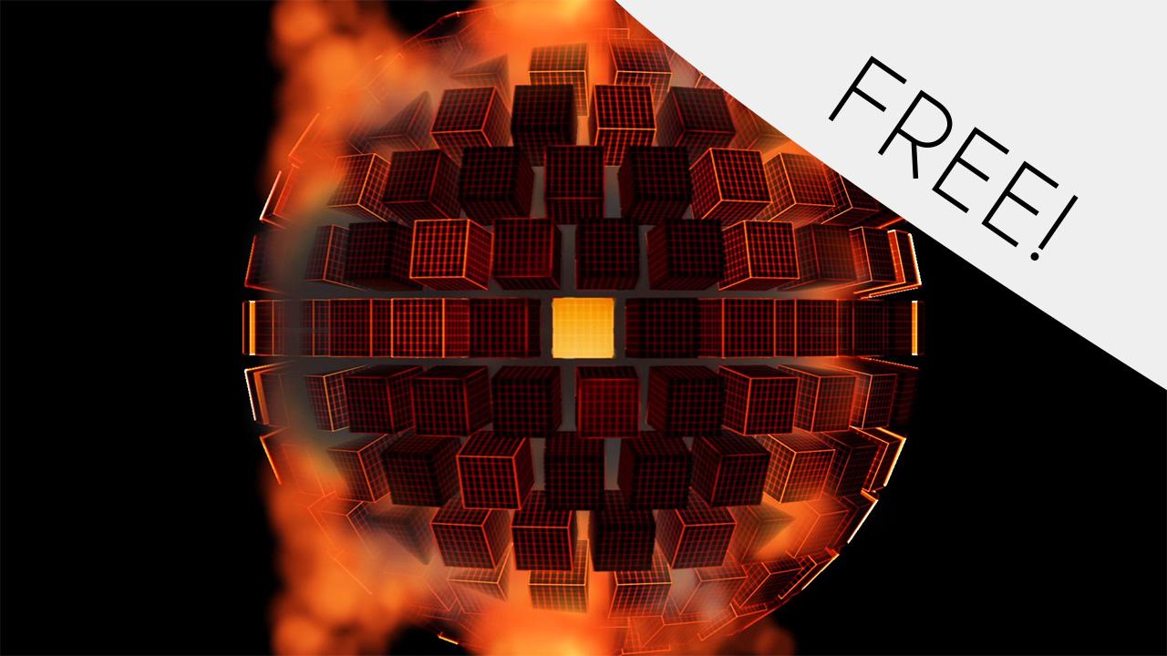 Fire Cubes – Free VJ Loop