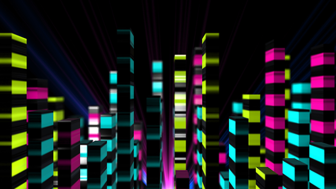 3D Equalizers 4-Pack HD Animations