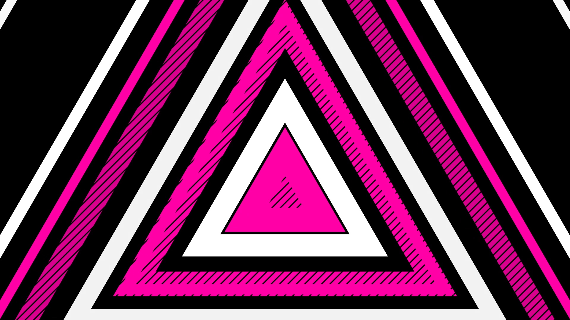 2D Shapes – Triangles Party