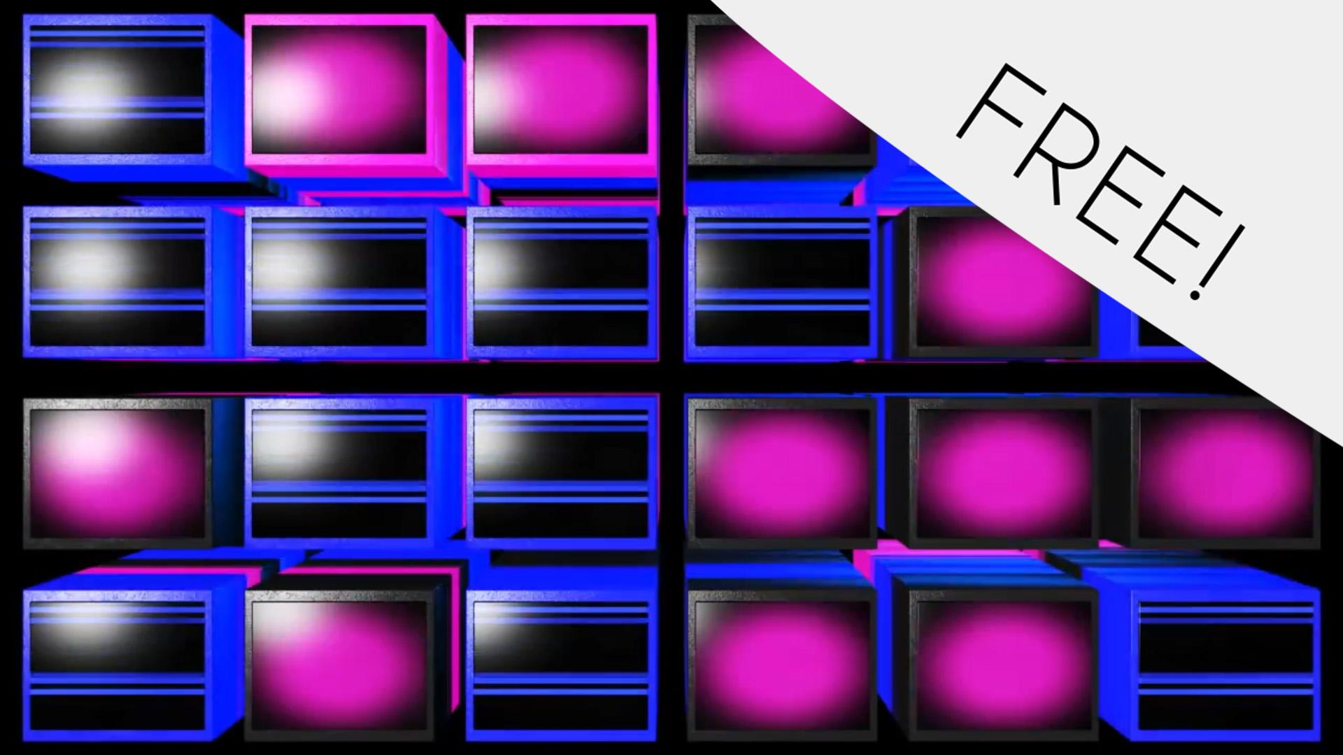 3D Video Cubes – Free VJ Loop