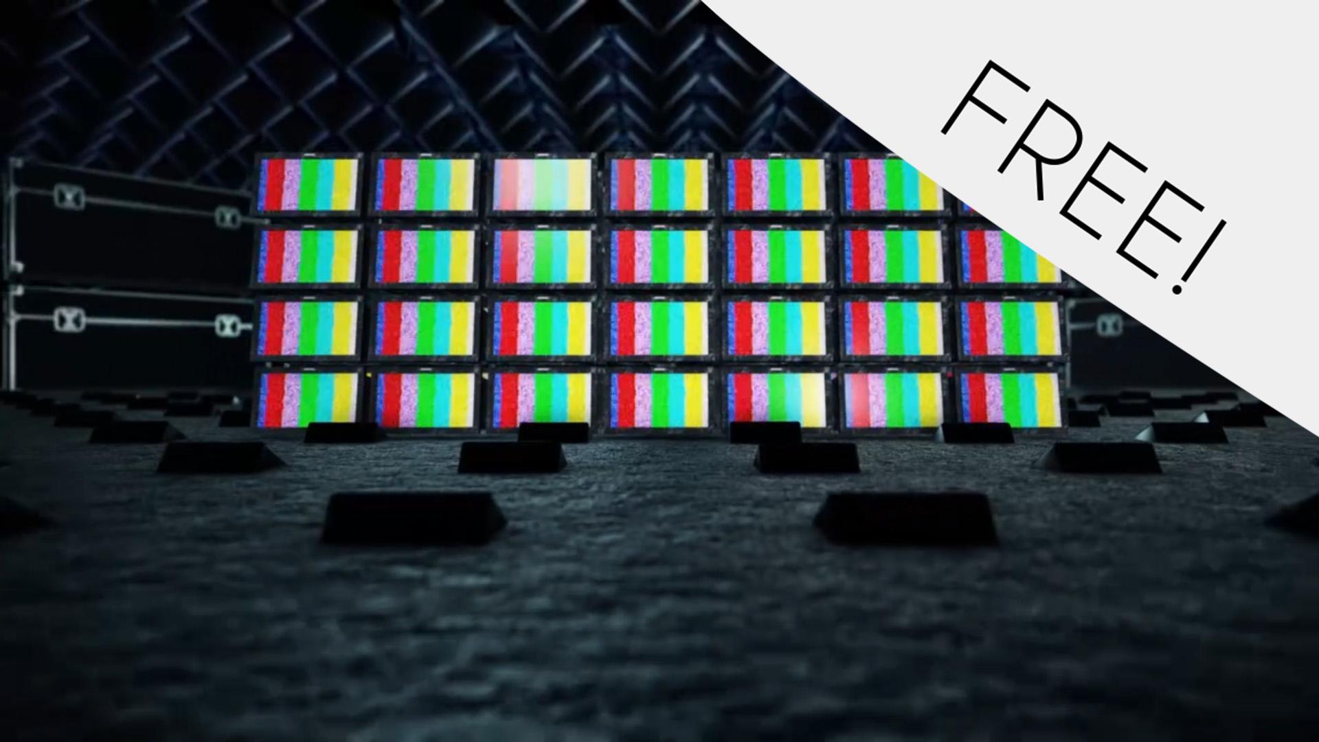 TV Rooms – Free VJ Loop
