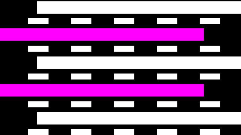 VJ Loops - Follow Me Shapes