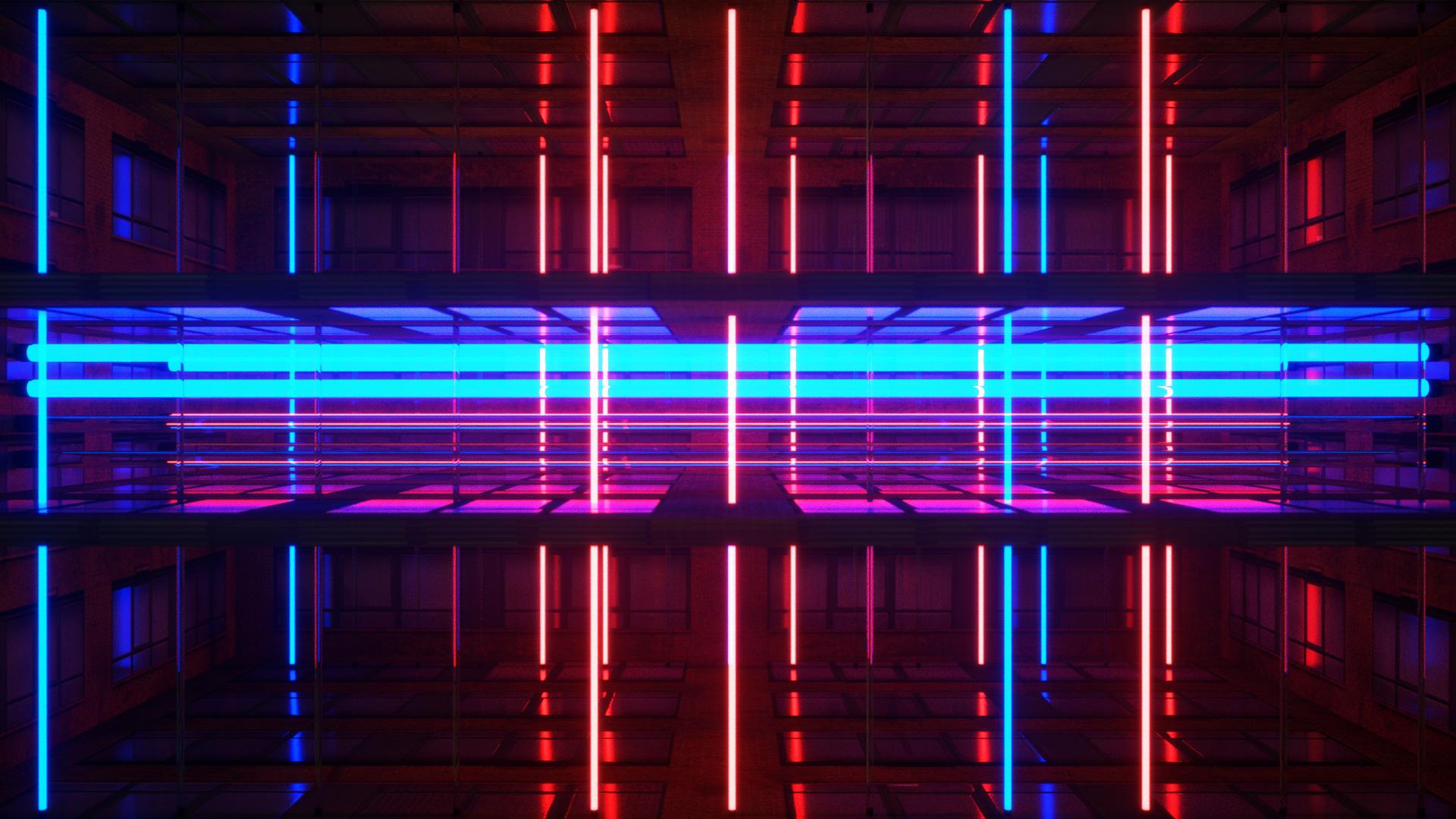 Neon Rooms VJ Loops Pack by Ghosteam
