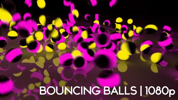 Balls Falling Loop HD