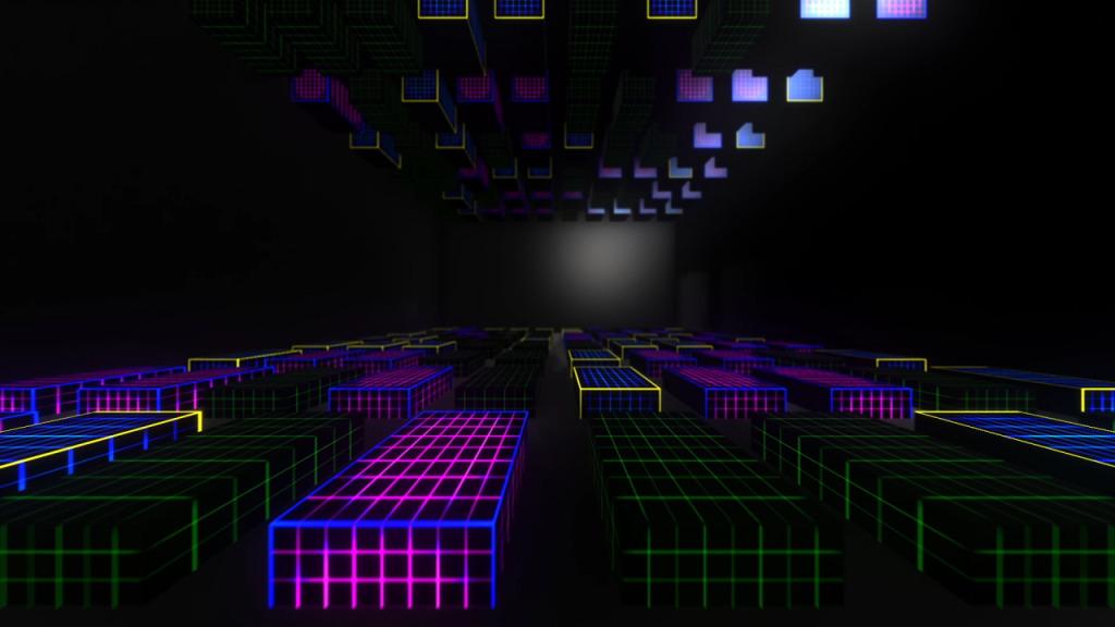3D Video Cubes – Free VJ Loop - Ghosteam - VJ Loops & Media Solutions
