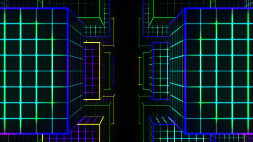 3D Video Cubes – Free VJ Loop - Ghosteam - VJ Loops & Media