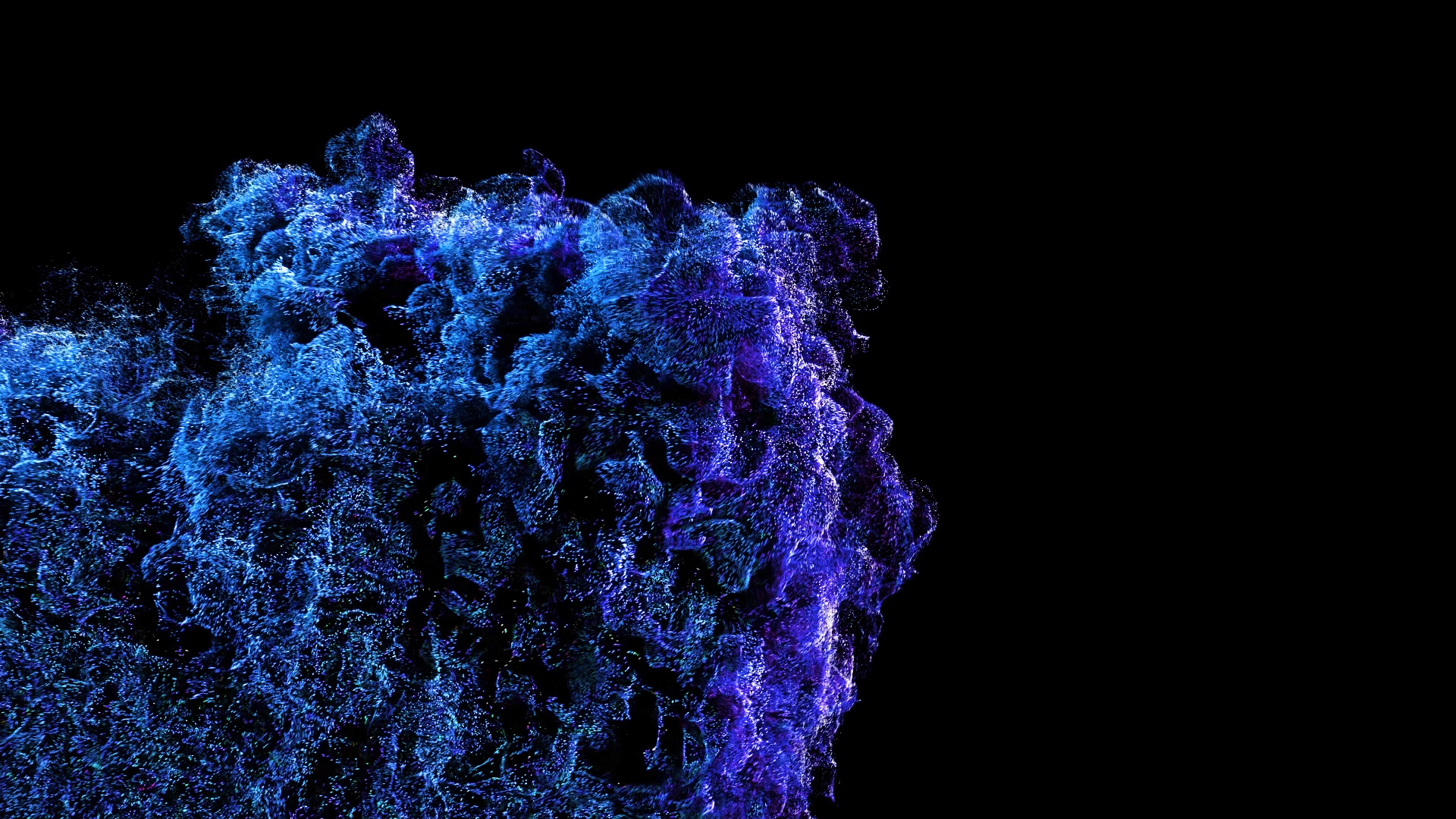 Particles Explosion VJ Loop by Ghosteam