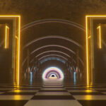 Neon Doors Wonderland