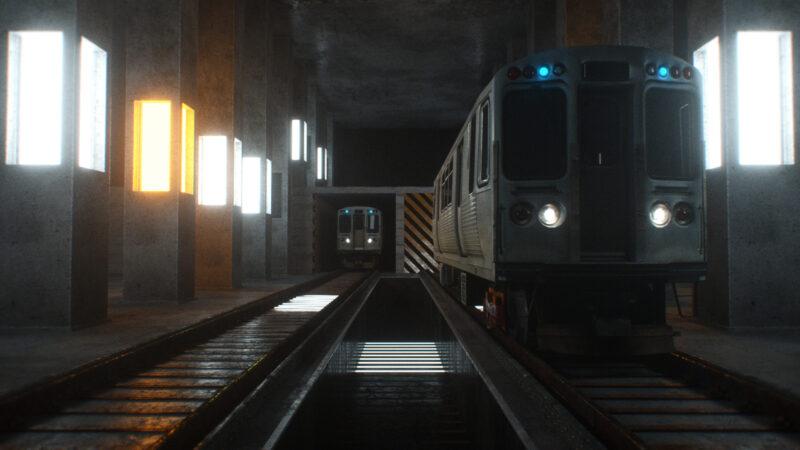 Train VJ Loop by Ghosteam - Unter VJ Pack