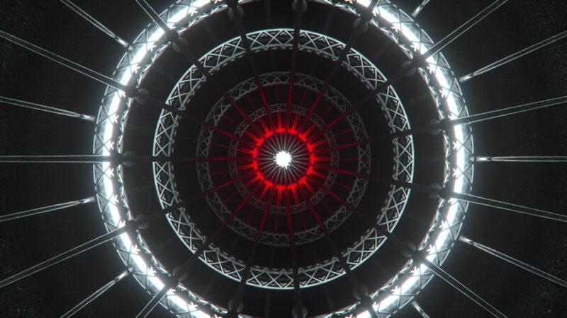 Circles Grid VJ Loop