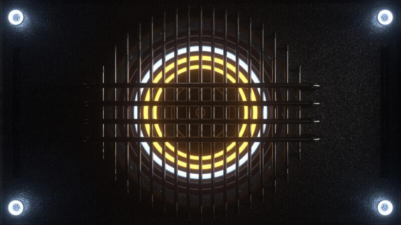 Neon Speaker VJ Loop - Neon Rooms 2 by Ghosteam