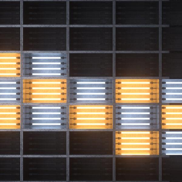 Neon Boxes VJ Loop - Neon Rooms 2 by Ghosteam