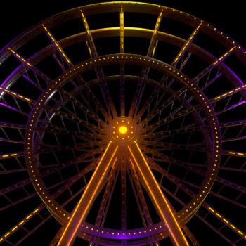 Luna Park VJ Loops Pack by Ghosteam - Ferris Wheel
