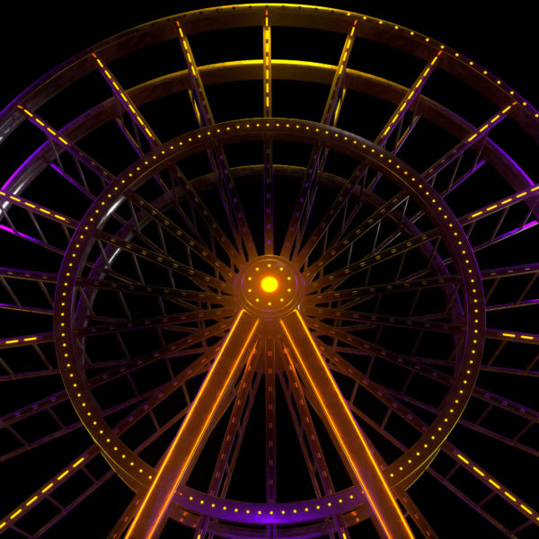 Luna Park VJ Loops Pack by Ghosteam - Ferris Wheel