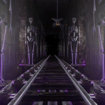 Horror Skeleton Ride VJ Loop by Ghosteam
