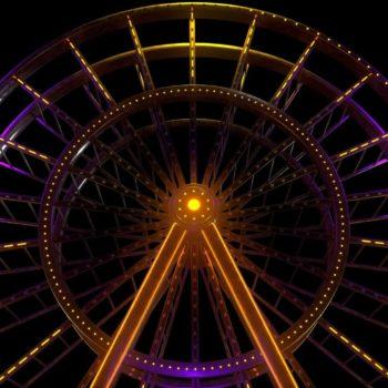 Ferris wheel VJ Loop by Ghosteam