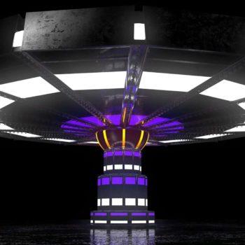 Luna Park Carousel VJ Loop by Ghosteam