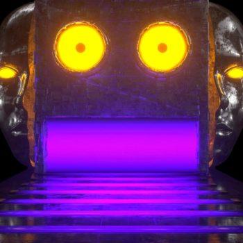 Robot Face VJ Loop