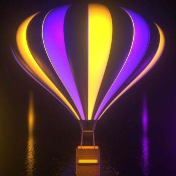 Hot Air Balloon VJ Loop