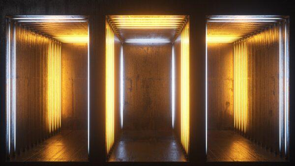 Neon Rooms 2 VJ Loops Pack by Ghosteam