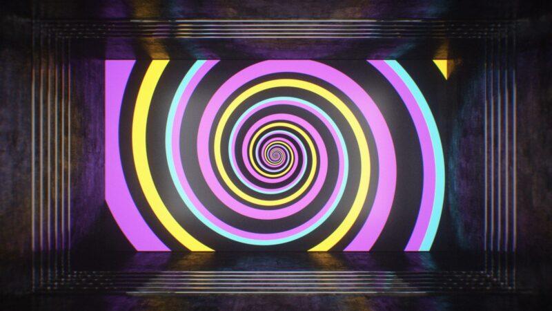 Hypnotize Illusion - Wonderland VJ Pack