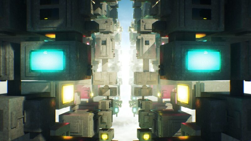 3d Cubes in Space