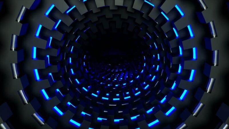Round Light Tunnel