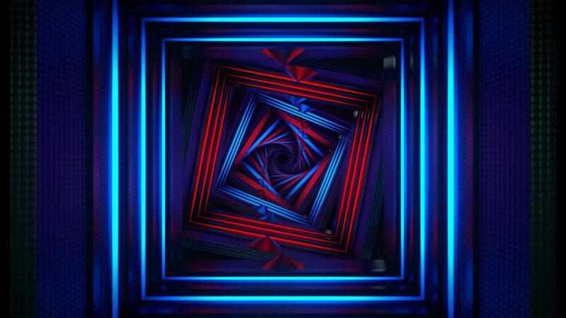Neon Box Tunnel - Voyage VJ Loops Pack