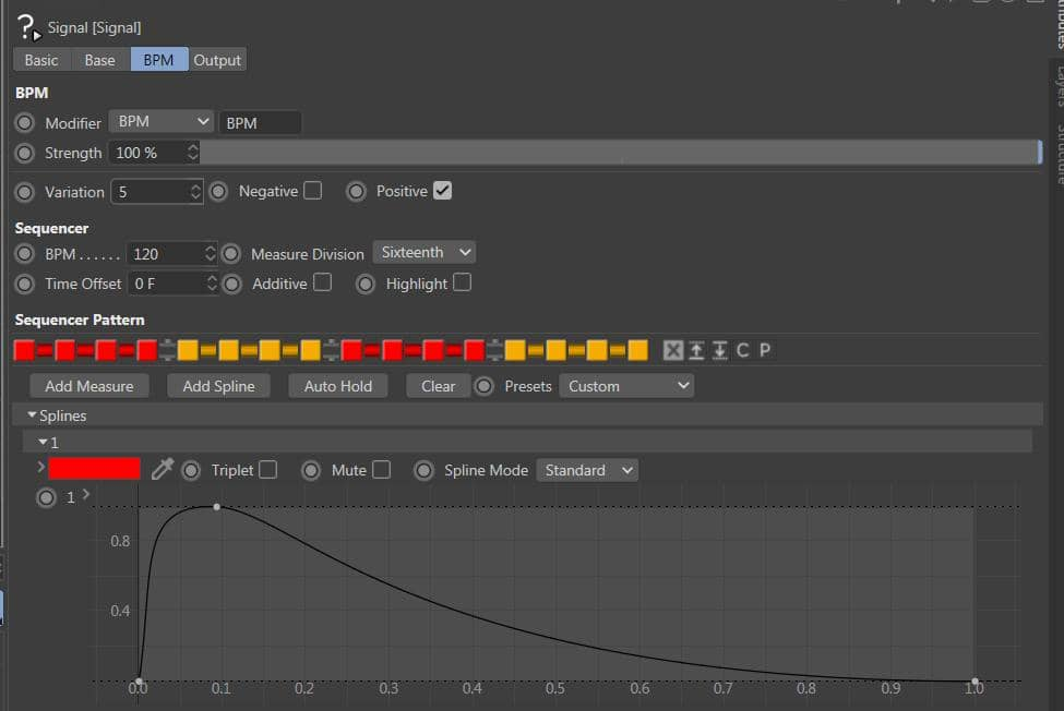 Signal plugin for Cinema 4D