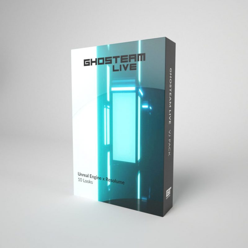 Ghosteam Live Product Box
